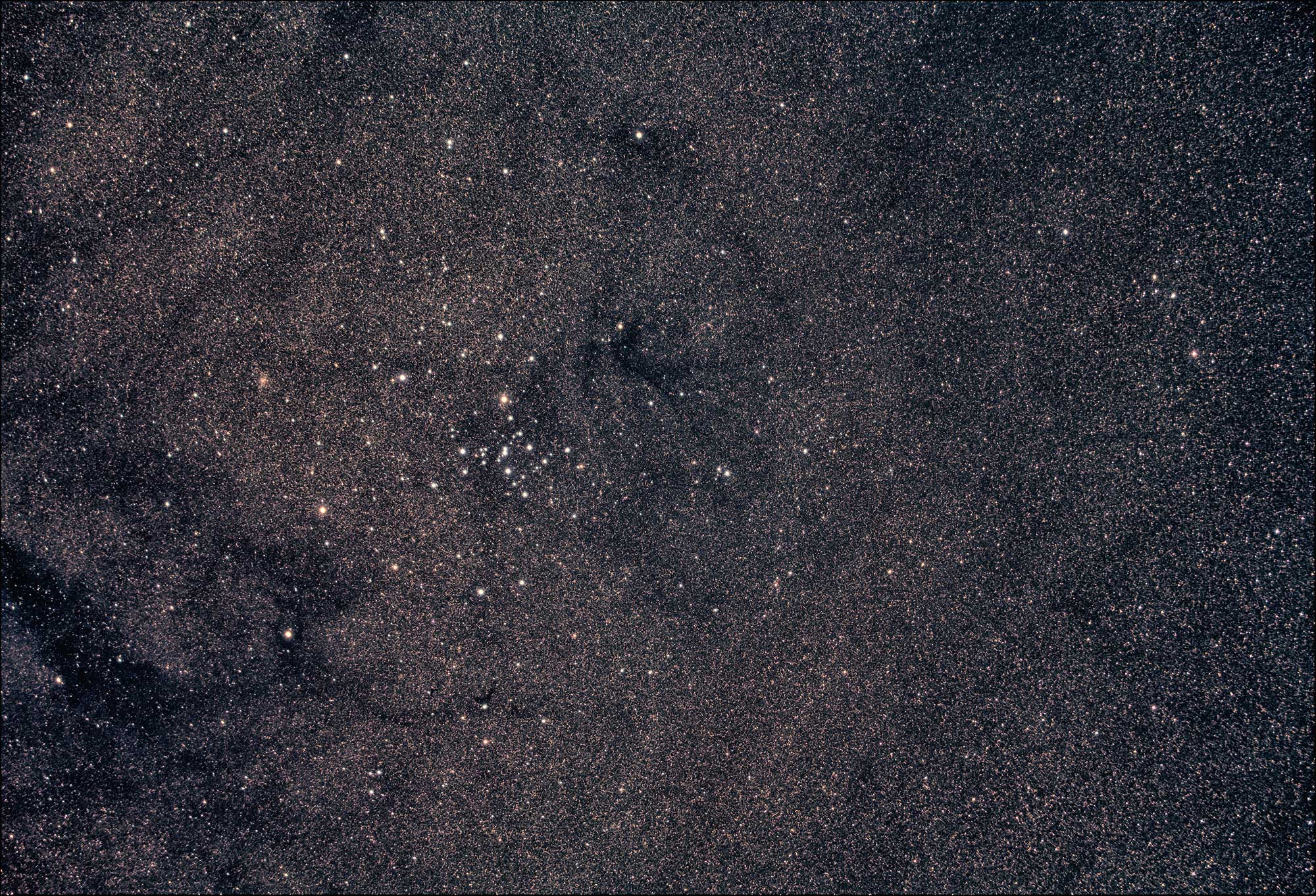 astrophotography of M7 with William Optics GT71 using asi 294 mcpro colour camera