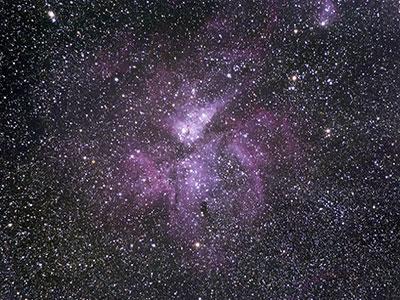 Eta Carinae Astrophotography Olympus OMD EM5 & Star Adventurer