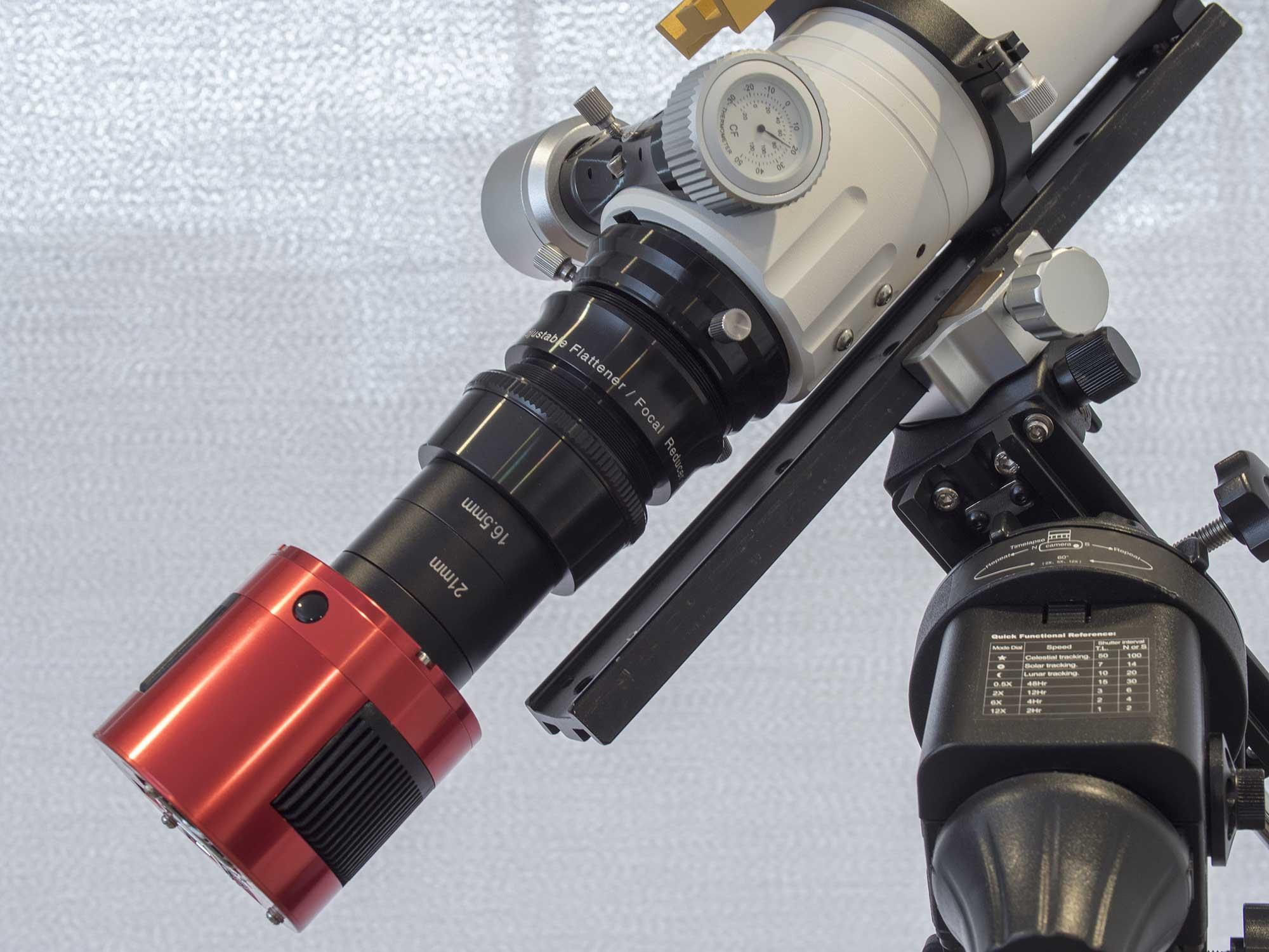 William Optics GT71 with 6A2 field flattener