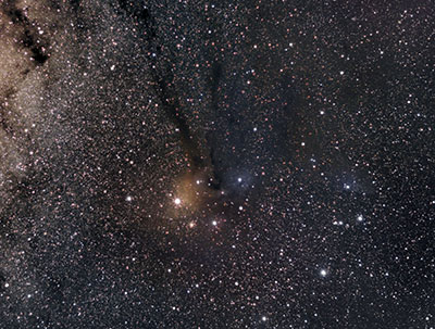 Antares wide field astrophotography using ASI 294 colour camera