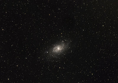 M33 astrophotography ASI 294 camera and Star Adventurer EQ Mount