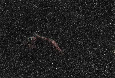 Veil Nebula astrophotography ASI 294 with Star Adventurer EQ Mount