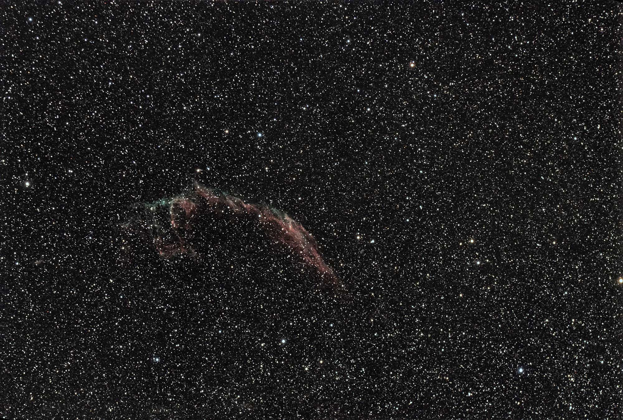 The Veil Nebular - Captured with William Optics GT71, ASI294MC Pro on A Sky Watcher Star Adventurer mount