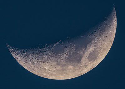 Lunar photography OMD EM5 mark 2 high resolution mode