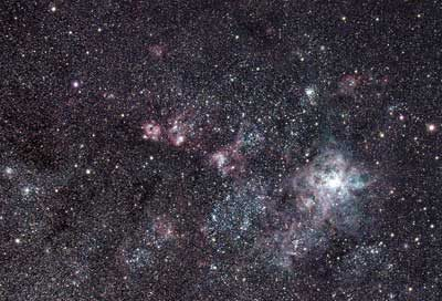 Tarantula nebula astrophotography with William Optics GT71 & ASI 294MCPRO