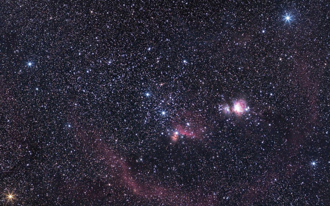 Widefield astrophotography with the ASI294 MC Pro and Olympus 50mm OM lens