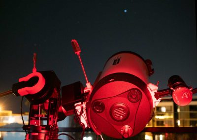 Balcony astronomy with the RASA8