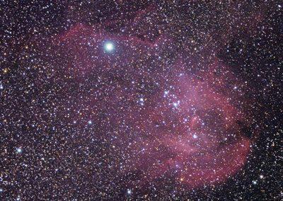 Running Chicken Nebula IC2944,  William Optics GT71 & ASI294MC Pro