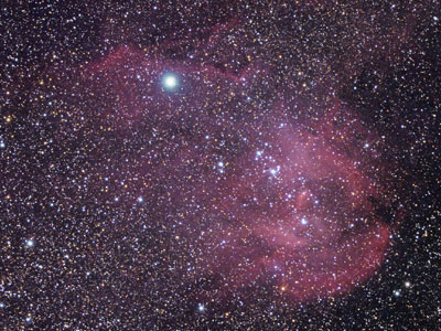 Running Chicken Nebula IC2944,  William Optics GT71 & ASI294MC Pro