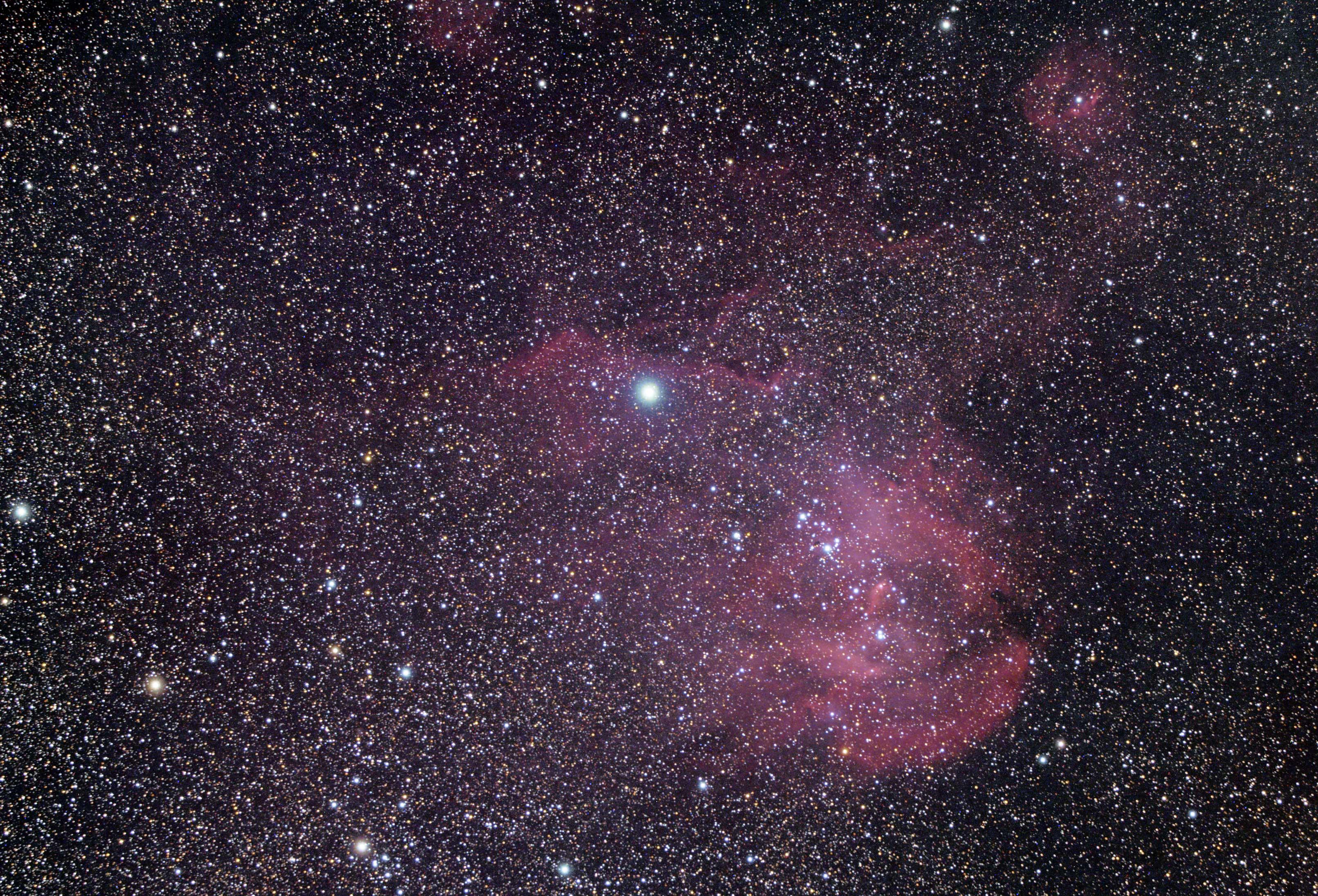 Running Chicken Nebula IC2944: William Optics GT71 & ASI294MC Pro