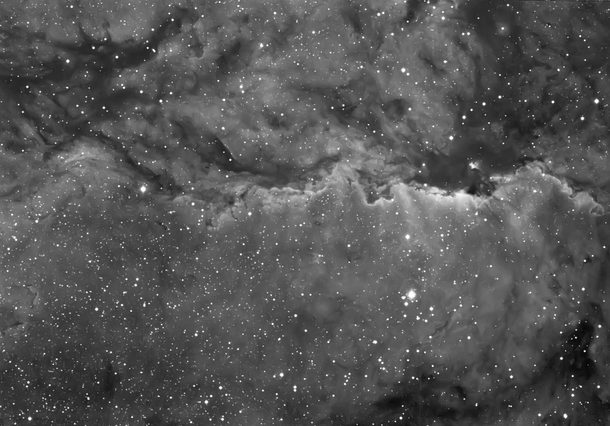 HA acquisition of NGC 6188 with William Optics GTF102 - Queensland Astrofest 2014