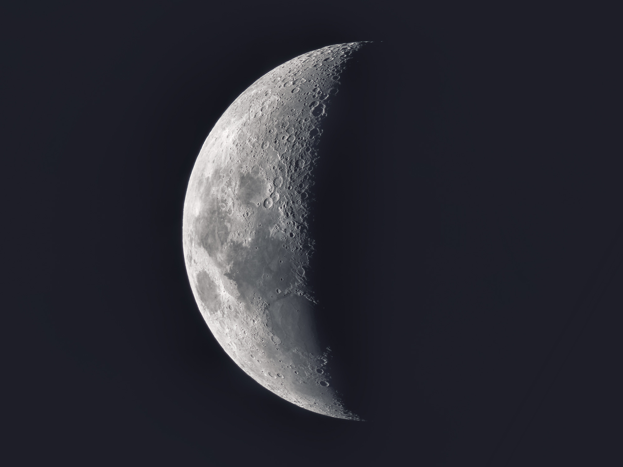 Moon with WO GTF 102 and ASI294 MC Pro