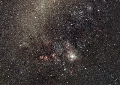 The RASA8 images the Tarantula nebula