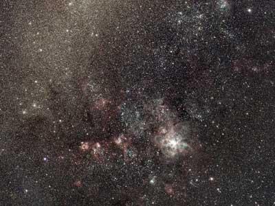 Tarantula nebula astrophotography with RASA8 & ASI 294MC Pro