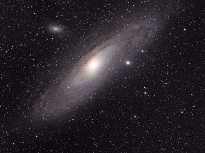 Messier 31 Andromeda Galaxy, William Optics GT71 & ASI294MC Pro