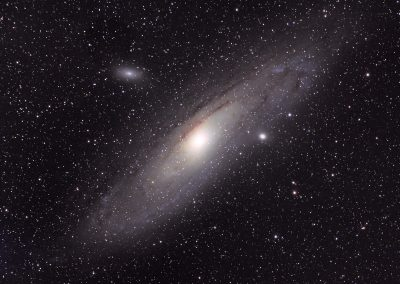 Andromeda galaxy William Optics GT71 & ASI294MC Pro