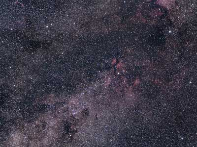 Cygnus wide field, Olympus 50mm lens & ASI294MC Pro