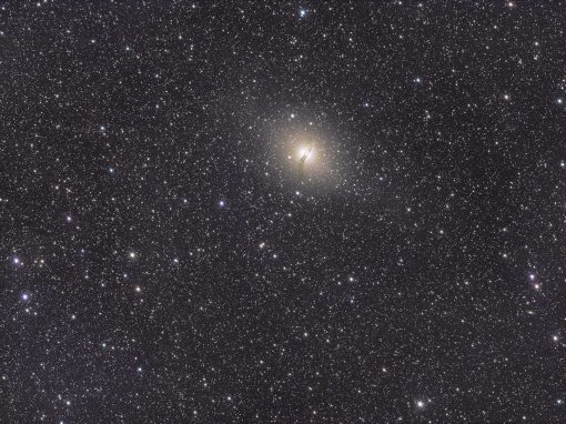 NGC 5128 captured with RASA8 & ASI294MC Pro