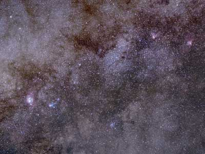 Sagittarius wide field, Olympus 50mm lens & ASI294MC Pro
