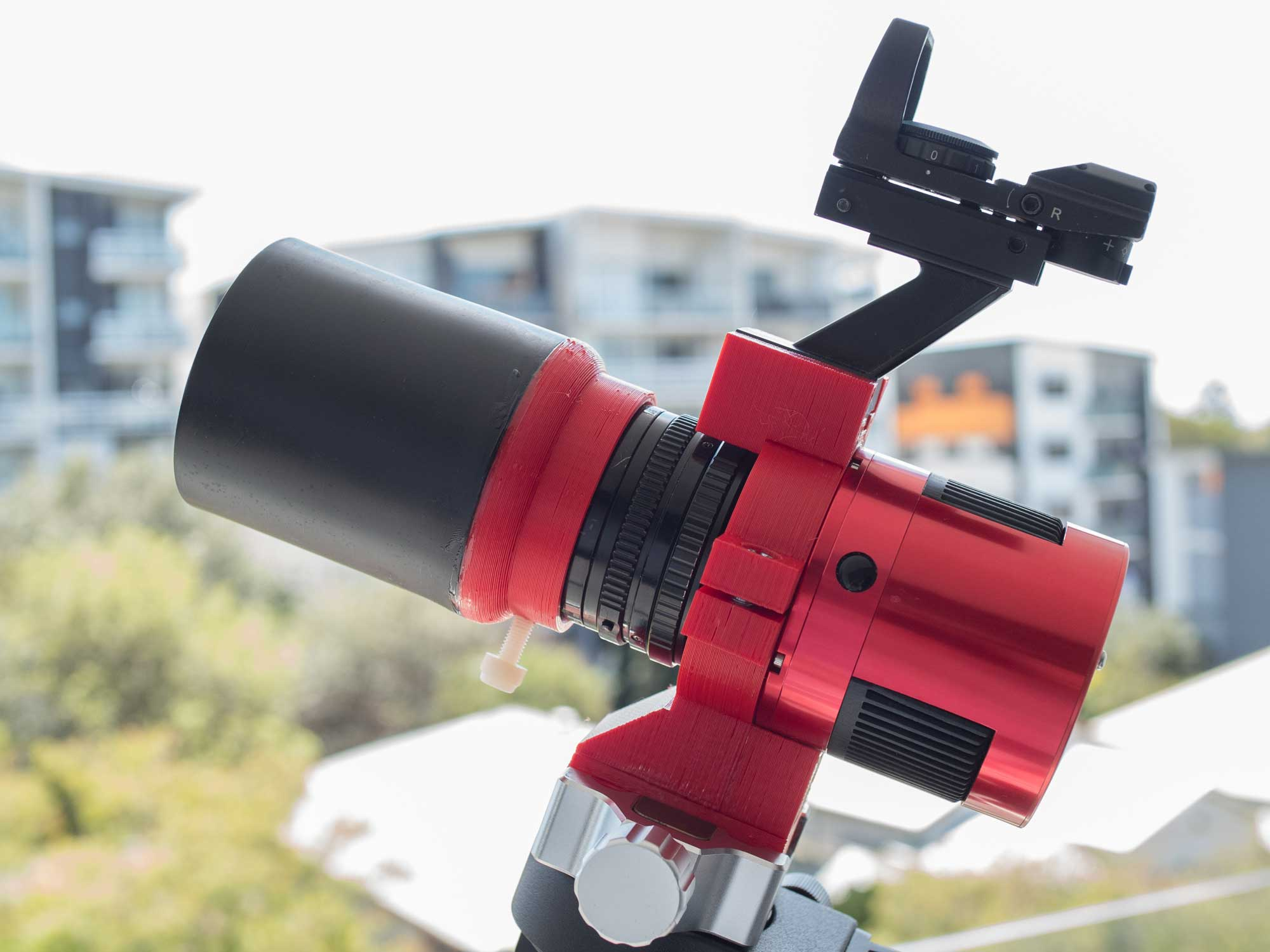 3D printing for astronomy : ASI294MC PRO camera to Star Adventurer adapter