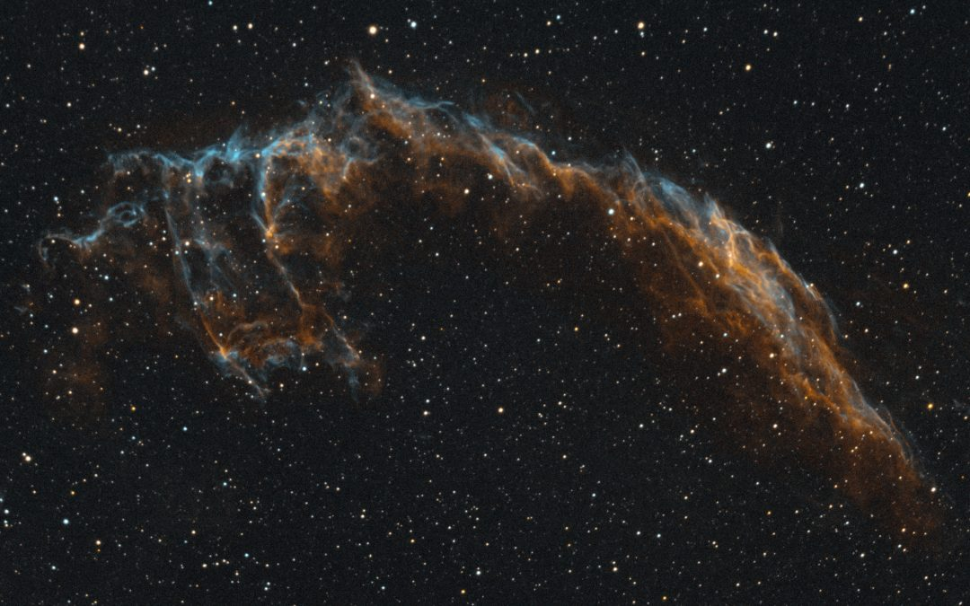 Veil Nebula captured  with William Optics GT71 & ASI183MM Pro camera