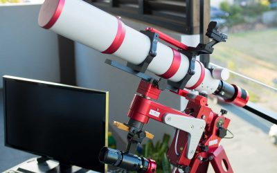 Configuring the M Zero mount for the William Optics GTF102mm f6.9 refractor