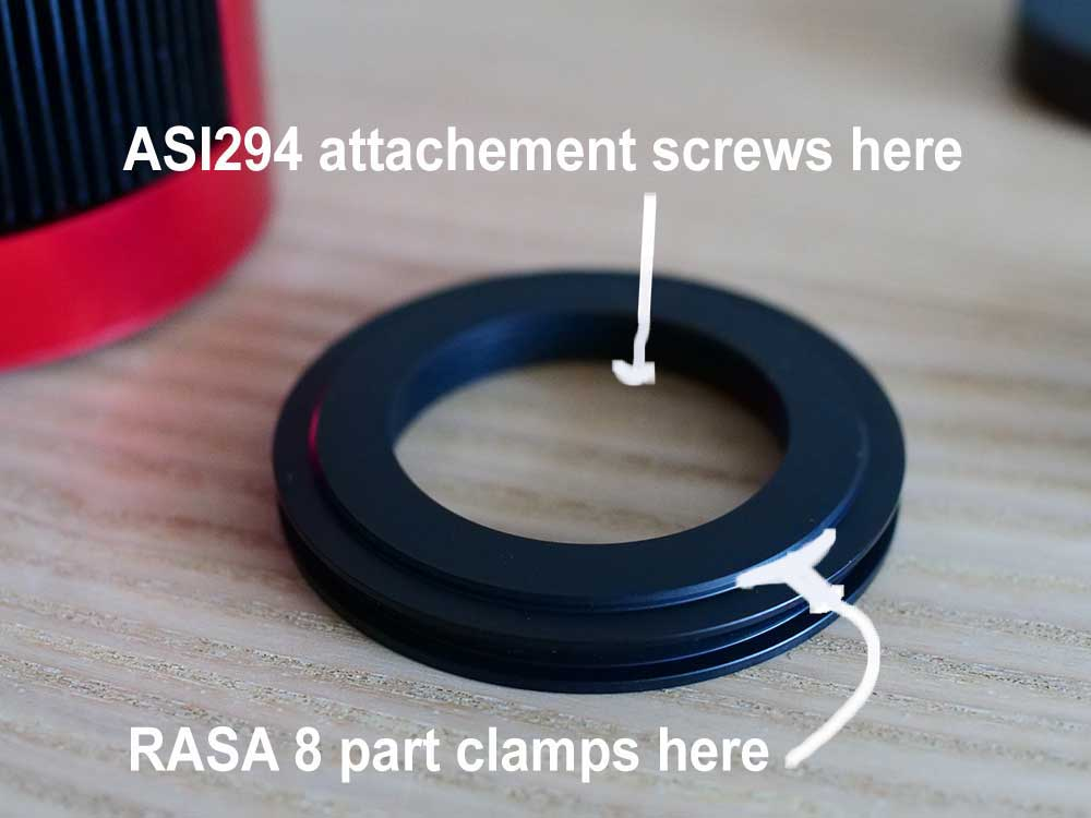 ASI294 mounting part
