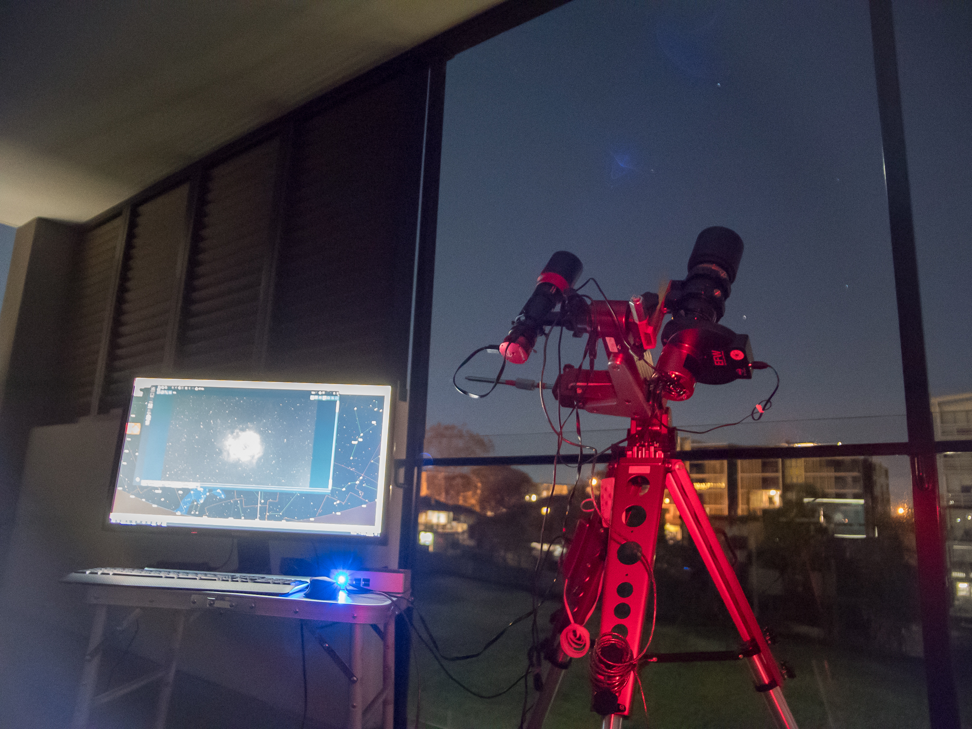 Astrophotography with the Borg55FL on the M Zero mount