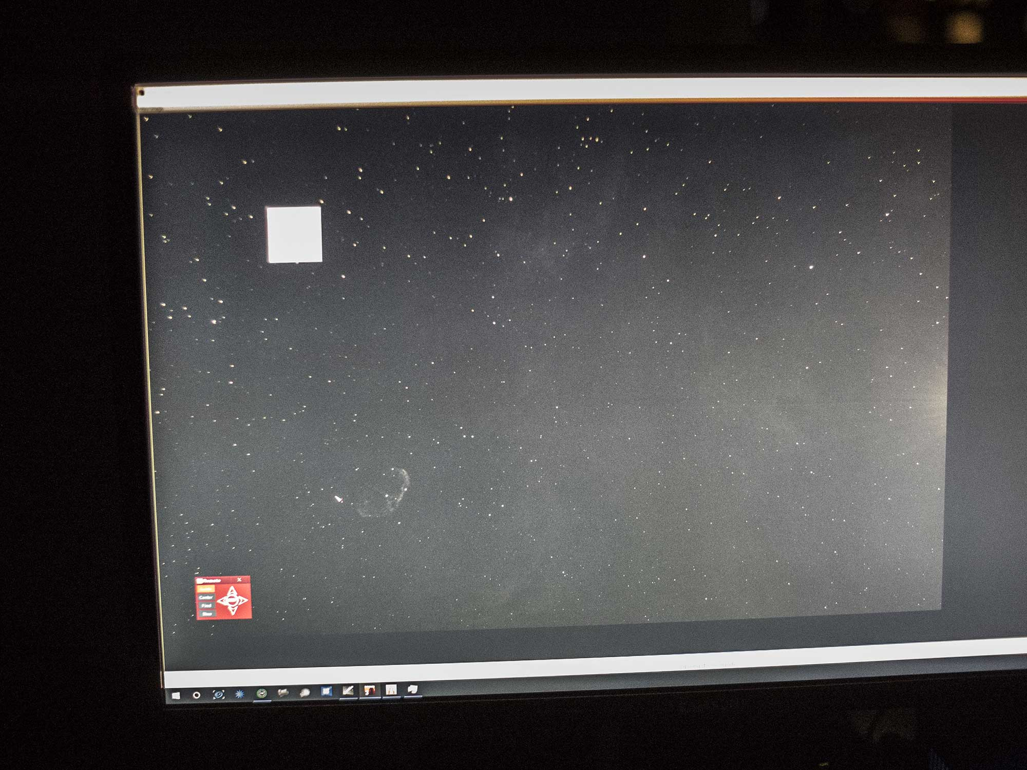 First light for the Borg 55FL imaging NGC6888 in hydrogen alpha