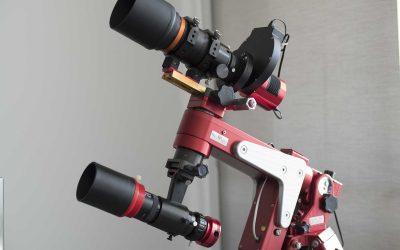 Configuring the M Zero mount for the Borg55FL