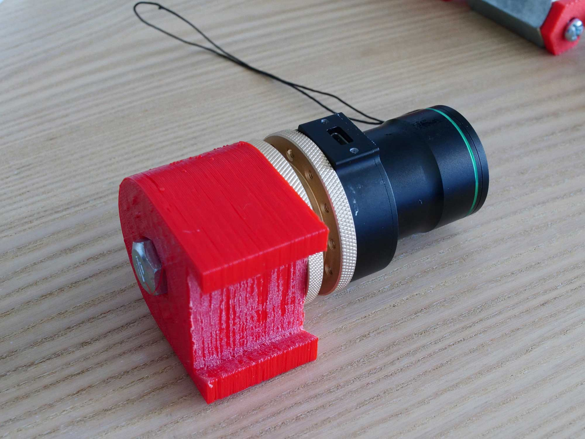 3D printed bracket polemaster to Avalon Instruments M Zero