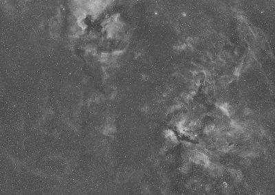 Cygnus wide field inHA Antlia 3.5nm filter