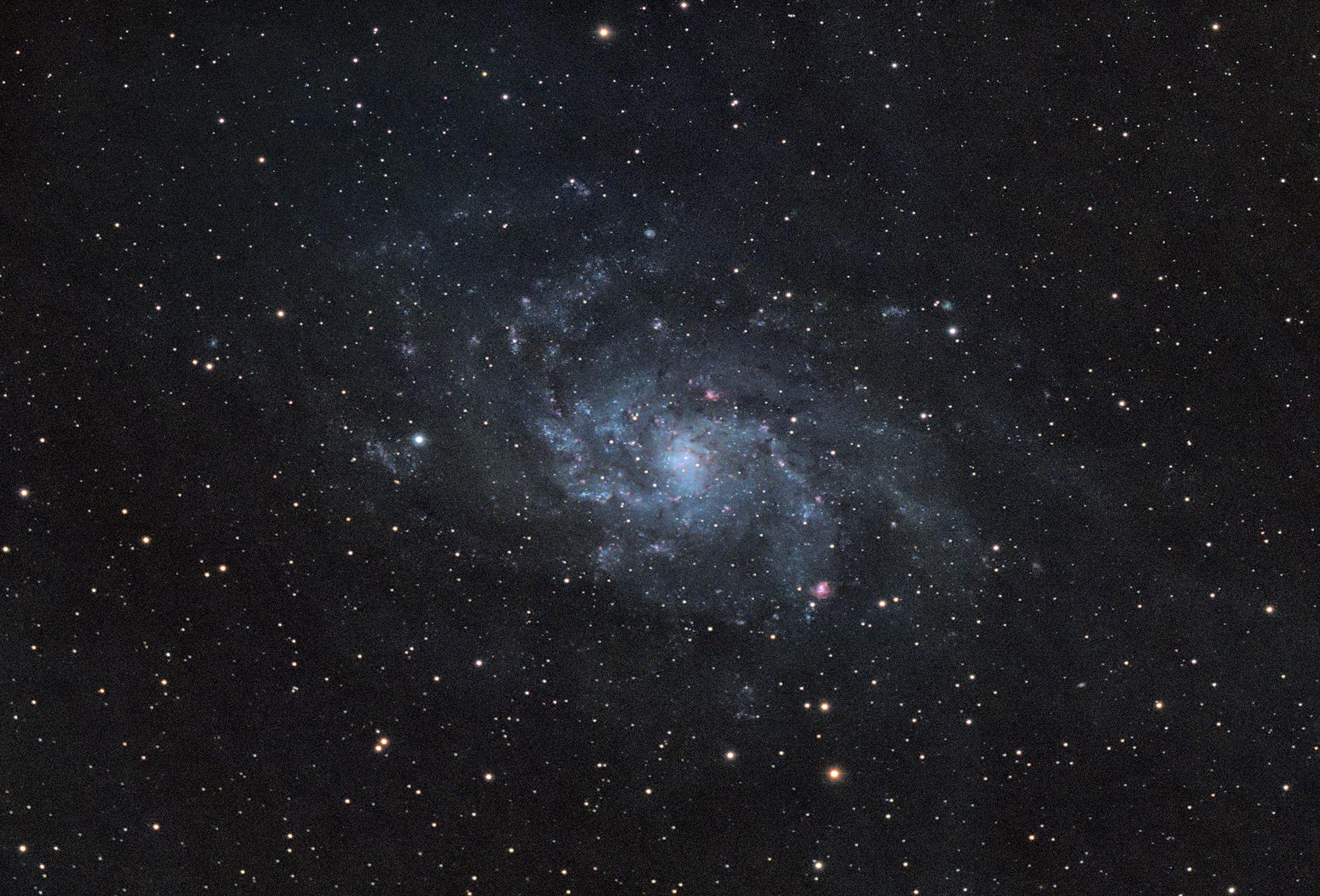 Rosette nebula captured with RASA8 and ASI183MC camera